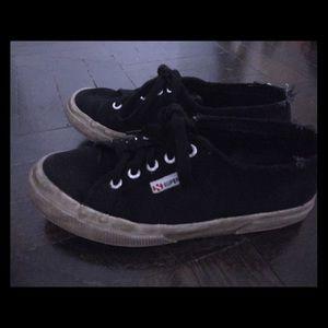 Superga Shoes - Superga Sneakers Black - 37.5 Used