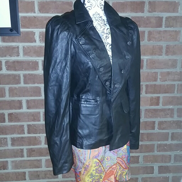 Inc International Concepts Jackets Coats Vintage Style Leather