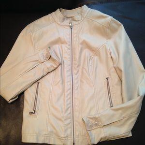 black rivet Jackets & Blazers - Leather jacket