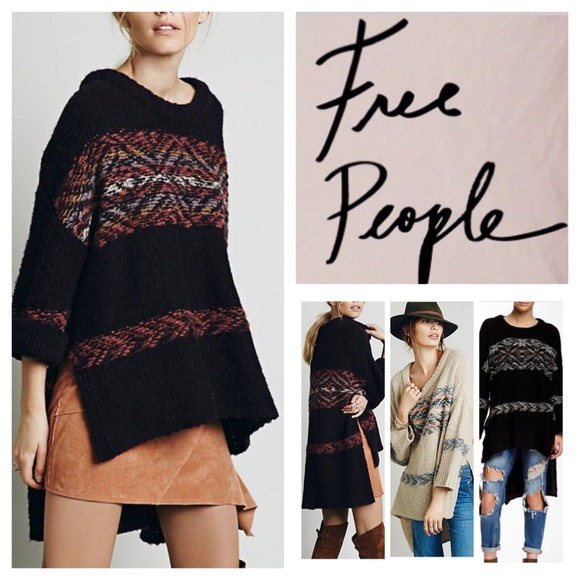 46% off Free People Sweaters - Free People Alpaca Fair Isle ...