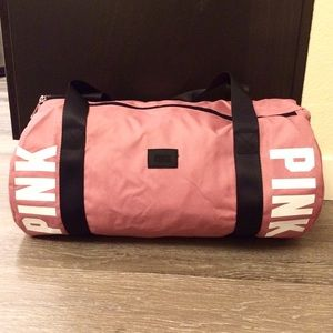 6386fc5eca PINK Victoria s Secret Bags - Soft Begonia Pink Gym Duffle Bag