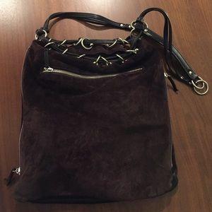 Michael Kors Handbags - Michael Kors vintage brown suede bag