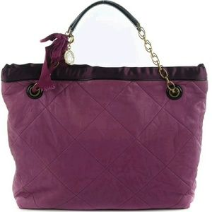 Lanvin Handbags - Lanvin Quilted Lambskin Amalia Cabas Tote