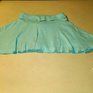 Knitworks Other - Pretty light- aqua colored soft cotton skort.