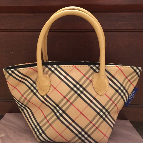 23784c8aae34 Burberry Handbags - Authentic Burberry Blue Label Classic Check Bag