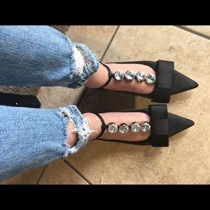 jessica Burrman Shoes - Bow flats