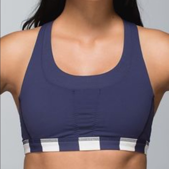 acde97b866e6f lululemon athletica Other - lululemon Stuff Your Bra Sports Bra Cadet Blue  10