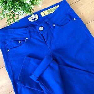 Indigo Rein Denim - 🍂Royal Blue Skinny Jeans!