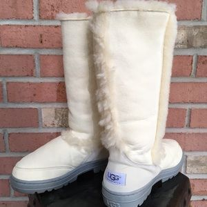 UGG Shoes - UNIQUE LIGHT CREAM  TALL UGG BOOTS