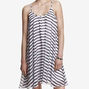 Express Dresses & Skirts - Chiffon Stripe Trapeze Dress