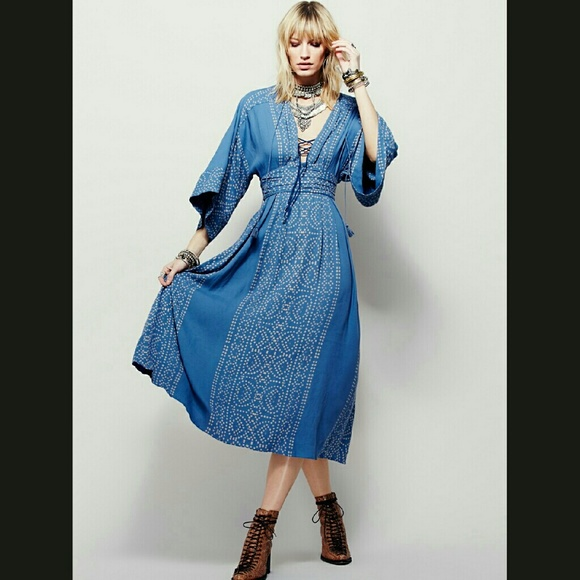 49ad0b26e1f3 Free people Modern Kimono Dress
