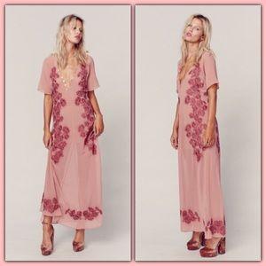 For love and lemons Sicily maxi dress