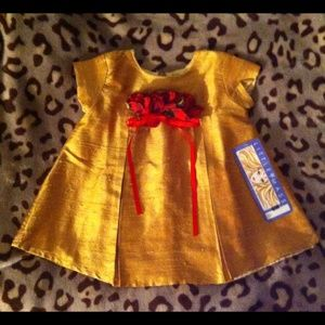 Little Mass Other - $148 Little Mass 100% Silk Dress,Size 6 Month