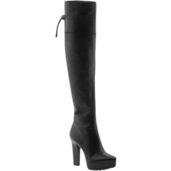 5f2a45115e4 Calvin Klein Shoes - 🍁CALVIN KLEIN🍂LUXE LEATHER OTK THIGH HIGH BOOT