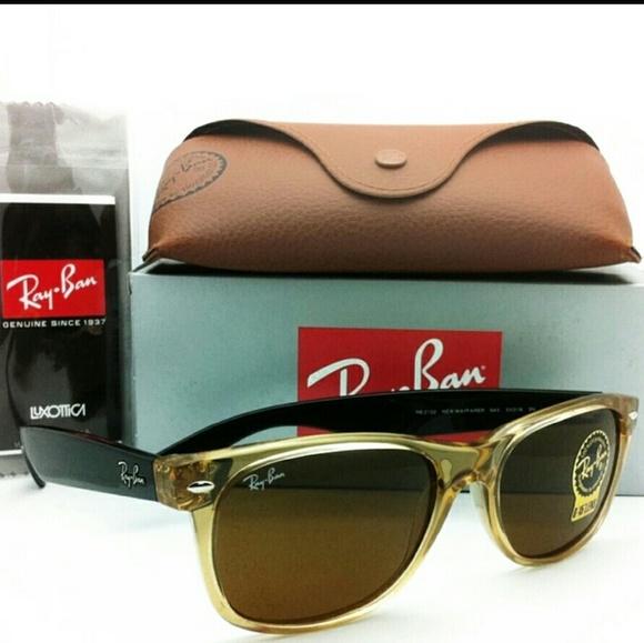 3e6dd917f37 Ray-Ban RB2132 New Wayfarer Sunglasses