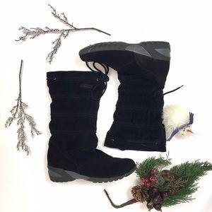 Tecnica Shoes - TECNICA FAUX SUEDE WINTER BOOTS, SIZE 8.5