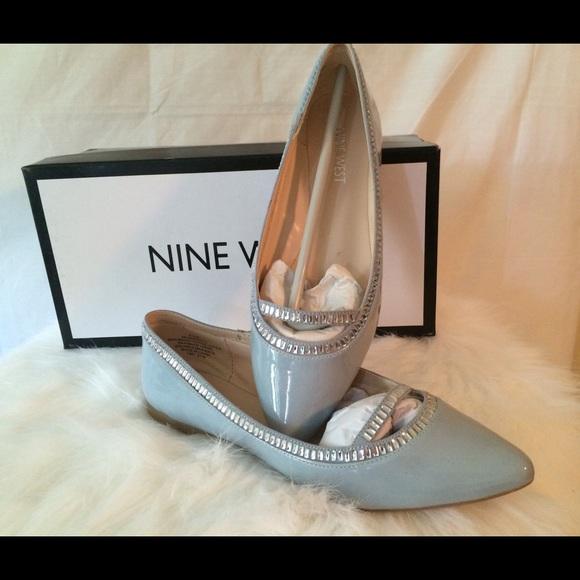 Nine West Shoes | Light Blue Flat