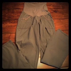 Two Hearts Maternity  Pants - Two Hearts Maternity Cargo Style Pants.