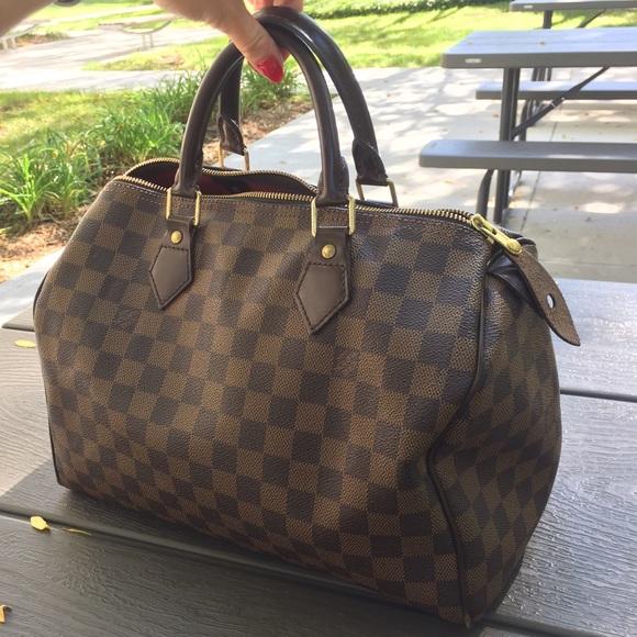 Louis Vuitton Bags   Flash Sale Speedy 30 Damier Ebene   Poshmark 6593a3dd9a