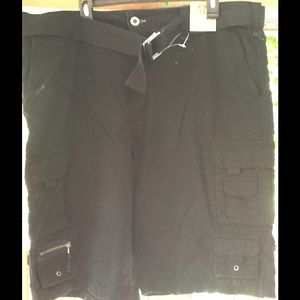 Route 66 Other - Men's Size 40 new nwt Cargo Shorts Black