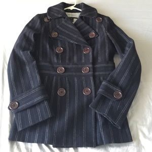 Marc by Marc Jacob pinstripe peacoat