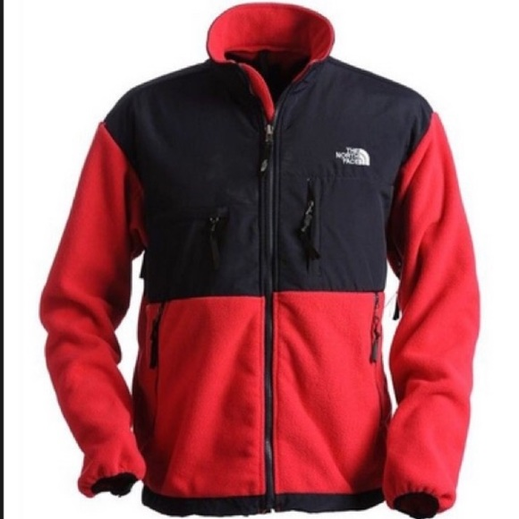 The North Face Jackets Coats Denali Jacket Redblack Mens Xl