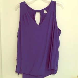 Old Navy Tops - Bright blue violet tank