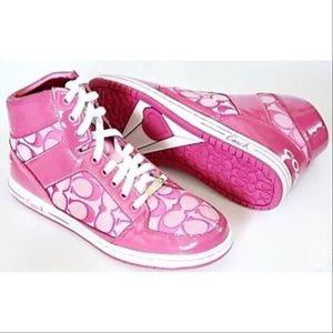 Coach Shoes - COACH authentic Norra high top sneakers