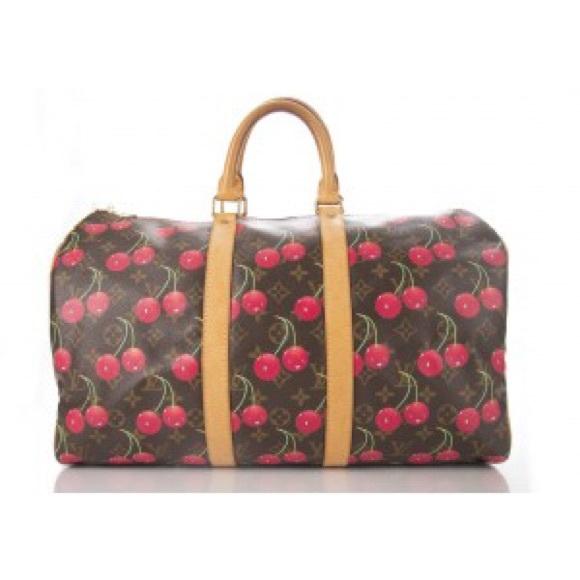 95a105e7d9429 Louis Vuitton Handbags - Louis Vuitton Monogram Canvas Cerises Keepall 45