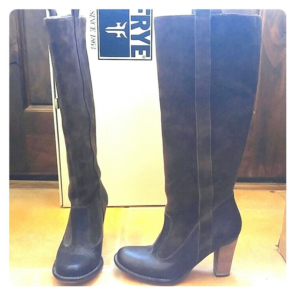 47 frye shoes frye villager suede leather boots