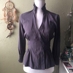 Diane von Furstenberg Graciela silk wrap top