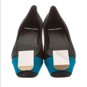 Pierre Hardy Shoes - Pierre Hardy - Jewel Embellished Square Toe Flats