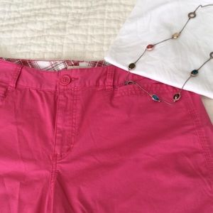 St. John's Bay Pants - NWOT Pink shorts 💓💓💓