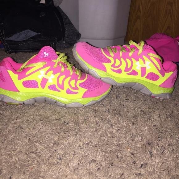 Neon Yellow Tennis Shoes   Poshmark