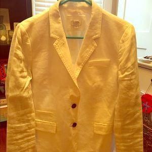 J Crew white linen blazer (only worn twice!)