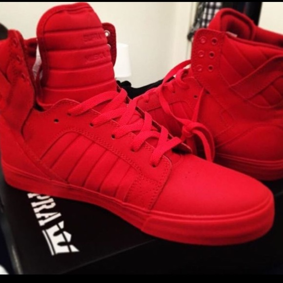 Red Supra Skytop Red Carpet Edition
