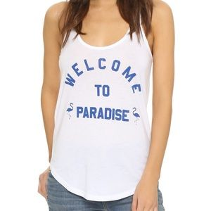 South Parade 'Welcome To Paradise' Tank