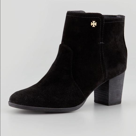 1b14cd81b6a Tory Burch Sabe Booties in black. M 57f93873713fdeb40e05568d