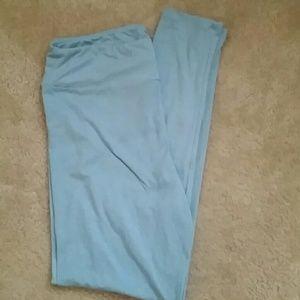 LuLaRoe - LuLaRoe Leggings - Heathered Light Blue BNWT - TC from Brittneyu0026#39;s closet on Poshmark