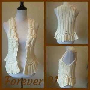 Forever 21 Jackets & Blazers - FOREVER 21 KNIT VEST