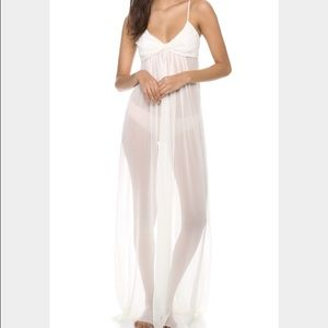 Jenny Packham Other - NWT Jenny Packham Long Sheer Nightgown. Never worn