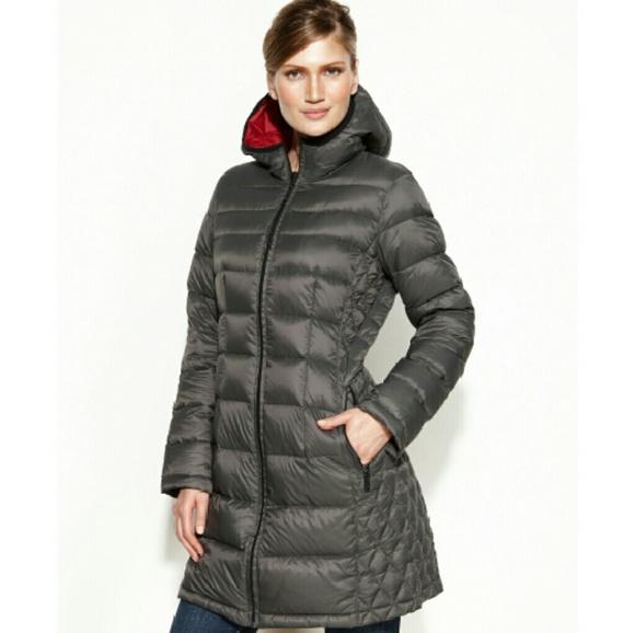 order online pre order beautiful design Michael Kors Hooded Packable Down Coat Boutique