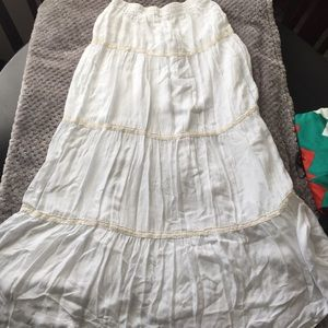 Merona white skirt or midi dress
