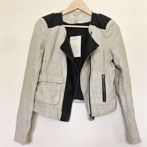 ZARA Light Moto Blazer Jacket