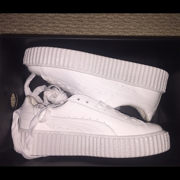 more photos ae765 cb0bc *ON HOLD*PUMA FENTY RIHANNA CREEPER PATENT LEATHER NWT