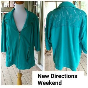 new directions Jackets & Blazers - New Directions 3/4 length Jacket! 2X