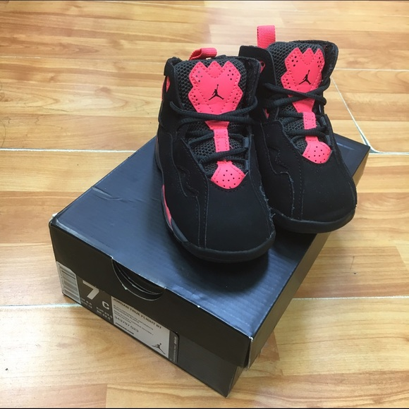 newest 775cf b9b92 Jordan Other - Jordan True Flight BT Toddler Black Infrared 23 7
