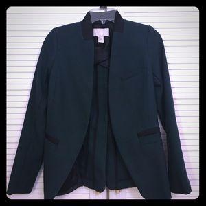 H&M Dark Green Black Blazer