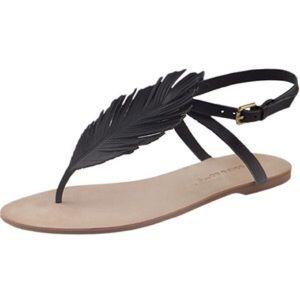 """Corso Como Shoes - Corso Como """"Edgar"""" feather sandals"""