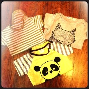 L'ovedbaby Other - Three NWOT adorable onesies